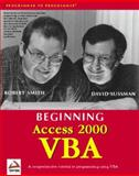 Access 2000 VBA, Sussman, Dave and Smith, Robert, 1861001762