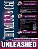 HTML 3.2 and CGI Unleashed : Profession Reference Edition, December, John and Ginsburg, Mark, 1575211777