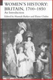 Women's History, Britain, 1700-1850 : An Introduction, , 0415291771