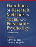 Handbook of Research Methods in Social and Personality Psychology, , 1107011779