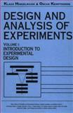 Design and Analysis of Experiments : Introduction to Experimental Design, Hinkelmann, Klaus and Kempthorne, Oscar, 0471551783
