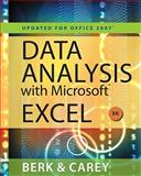 Data Analysis with Microsoft Excel : Updated for Office 2007, Berk, Kenneth N. and Carey, Patrick M., 0495391786