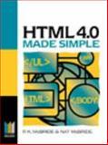 HTML 4.0 Made Simple, McBride, P. K. and McBride, Nat, 0750641789
