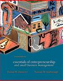Essentials of Entrepreneurship and Small Business Management, Zimmerer, Thomas W. and Scarborough, Norman M., 0131491784