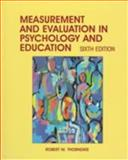 Measurement and Evaluation in Psychology and Education, Thorndike, Robert M., 0132541785