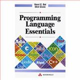 Programming Language Essentials, Bal, Henri and Grune, Dick, 0201631792