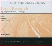 Sum and Substance Audio on Legal Research, 2001, Berring, 0314261796
