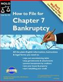 How to File for Chapter 7 Bankruptcy, Stephen Elias and Albin Renauer, 1413301797