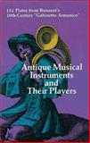 Antique Musical Instruments and Their Players, Filippo Bonanni, 0486211797