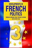 Developments in French Politics 3, Cole, Alistair, 1403941793