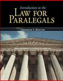Introduction to the Law for Paralegals, Benton, Deborah S., 007351179X