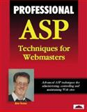 Professional ASP Techniques for Webmasters, Alex Homer, 1861001797
