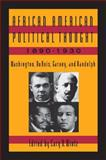 African-American Political Thought, 1890-1930