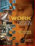 Work Design : Occupational Ergonomics, Konz, Stephan A. and Johnson, Steve, 1890871796