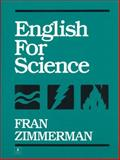 English for Science, Zimmerman, Frances, 0132821796