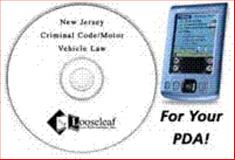 New Jersey Criminal Code/Motor Vehicle Law for Hand Helds, , 1889031798
