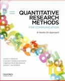 Quantitative Research Methods for Communication : A Hands-On Approach, Wrench, Jason S. and McCroskey, James C., 0199931801