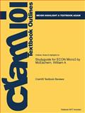 A Studyguide for Econ Micro3 by Mceachern, William, Cram101 Textbook Reviews, 1478471808