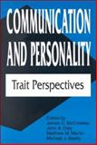 Communication and Personality : Trait Perspectives, , 157273180X