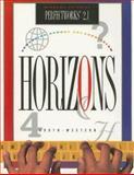 Horizons Windows Tutorial Perfectworks 2. 1, Sharon Andelora, 0538641800
