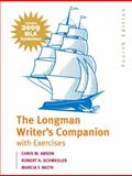 The Longman Writer's Companion with Exercises : MLA Update Edition, Anson, Chris M. and Schwegler, Robert A., 0205741800