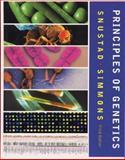 Principles of Genetics, Snustad, D. Peter and Simmons, Michael J., 0471441805