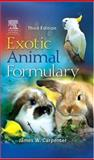 Exotic Animal Formulary, Carpenter, James W., 0721601804