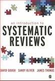 An Introduction to Systematic Reviews, , 1849201811