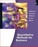 Quantitative Methods for Business, Anderson, Michael, Jr. and Sweeney, Dennis J., 0324651813