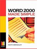 Word 2000 Made Simple, Brindley, Keith, 0750641819
