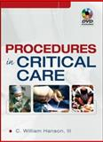 Procedures in Critical Care, Hanson, C. William, III, 0071481818