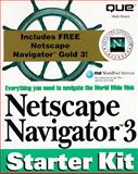 Netscape Navigator Gold 3 : Starter Kit, Que Publishing Staff, 0789711818