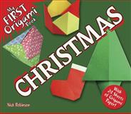 My First Origami Book--Christmas, Nick Robinson, 048649182X