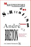 Manifestoes of Surrealism, Breton, André, 0472061828