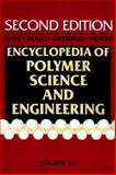 Encyclopedia of Polymer Science and Engineering, Styrene Polymers to Toys, , 0471811823