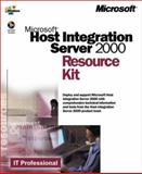 Microsoft Host Integration Server 2000 Resource Kit, Microsoft Official Academic Course Staff, 0735611823
