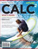 Applied CALC, Frank Wilson, 1285061829