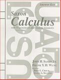 Calculus, John Saxon and Frank Wang, 1565771826