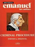 Criminal Procedure, Emanuel, Steven L., 0735551839
