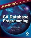 C# Database Programming, Jason Price, 0782141838