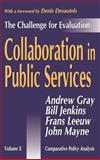 Collaboration in Public Services : The Challenge for Evaluation, , 0765801833