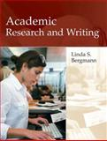 Academic Research and Writing, Bergmann, Linda, 0321091841