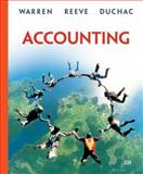 Accounting, Warren, Carl S. and Reeve, James M., 0324401841