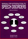 Manual for Introduction to Speech Disorders 2nd Edition