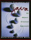 Introduction to Programming Using Java : An Object-Oriented Approach, Arnow, David, 0201311844