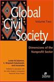 Global Civil Society : Dimensions of the Nonprofit Sector, Salamon, Lester M. and Sokolowski, S. Wojciech, 156549184X