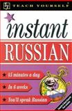 Teach Yourself Instant Russian 9780658011849