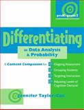 Differentiating in Data Analysis and Probability, PreK-Grade 2, Jennifer Taylor-Cox, 0325021856