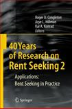 40 Years of Research on Rent Seeking, Congleton, Roger D., 354079185X