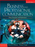 Business and Professional Communication : Plans, Processes, and Performance, Legge, Nancy J. and DiSanza, James R., 0205581854
